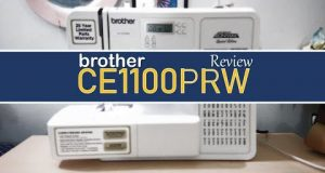 Brother CE1100PRW Review (My Sewing Machine)