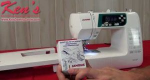 JANOME 3160QDC Sewing Machine Overview by Ken's Sewing Center