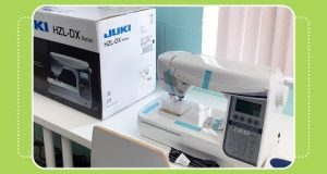Juki DX5 Sewing Machine Review with The Crafty Gemini