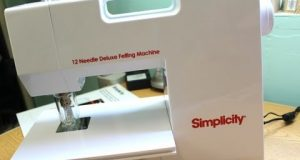 Simplicity 12 Needle Deluxe Felting Machine- Product Review