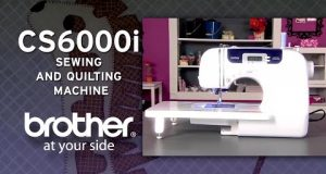 Brother CS6000i Sewing & Quilting Machine Overview