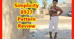 Simplicity 8927 pattern review/ sewing my own clothes / sew with patterns