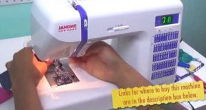 Janome DC2014- Sewing Machine Review