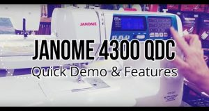 Janome 4300 QDC | The Fabric Garden