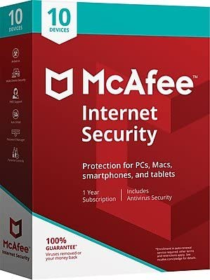 McAfee Internet Security 10 Devices