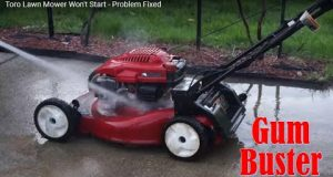 Toro Lawn Mower Won't Start – Problem Fixed. Use GumBuster by Cleancarburetor on all your machines