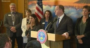 Colorado governor, other officials discuss state's first coronavirus death