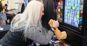 Over The Top Arm Wrestling Arcade Game