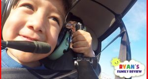 Kids fun Helicopter ride and arcade