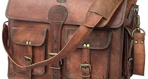 DHK 18 Inch Vintage Handmade Leather