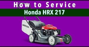 How To Tune Up The Honda HRX217 Mower – (Link to Kit in Description)