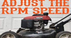 How To Adjust the RPM Speed on a Lawn Mower – Video
