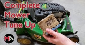 Complete Lawn Mower Tune Up