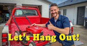 Lawn Mower Tune Up (Oil Change, SeaFoam Engine Clean)