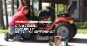 Briggs & Stratton – Tune Up Your Riding Mower Engine