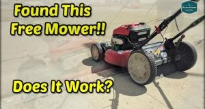 Found A Free Mower…Will It Run? | Used Lawn Mower Tune Up