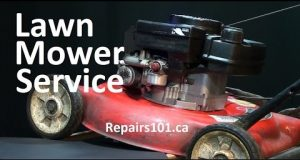 How to Service Your Lawn Mower – Basic Engine Service & Blade Sharpening