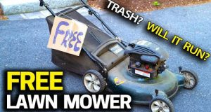 FREE Lawn Mower – Will it Run? Trash to Treasure & Tuneup Step by Step