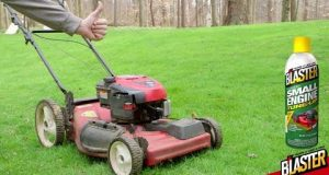 Lawn Mower Maintenance with B'laster Small Engine Tune-Up