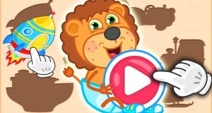 Lion Family Arcade Game  Puzzle