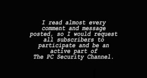 The PC Security Channel Credits (3K