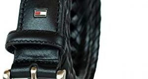 Tommy Hilfiger Leather Braided Belt –