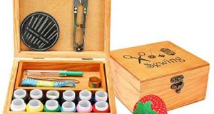 Mini Professional Wooden Sewing Basket