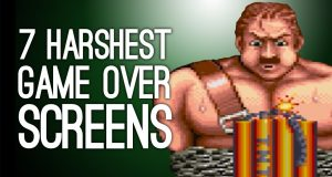 The 7 Harshest Continue Screens in