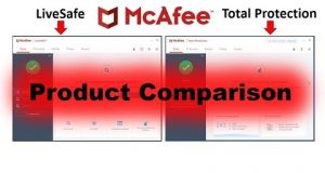 McAfee LiveSafe vs. McAfee Total