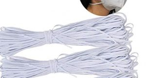 198 Yards White Elastic Bands for