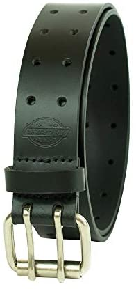 Dickies Men's Leather Double Prong