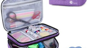 Luxja Double-Layer Sewing Supplies