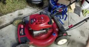 Toro Recycler Personal Pace Lawn Mower – Self Propelled and engine engage alternative fix / repair