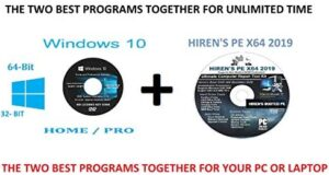 WINDOWS 10 PRO and HOME 64-BIT AND