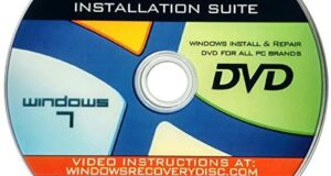 Recovery, Repair & Re-install disc