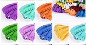 Color Elastic Bands for Sewing 1/4