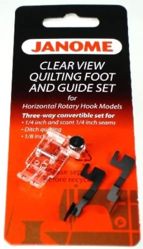 Janome Clear View Quilting Foot and