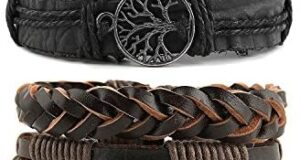 HZMAN Genuine Leather Tree of life
