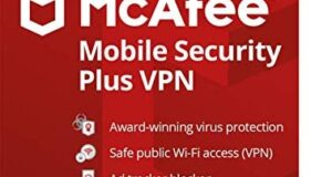 McAfee Mobile Security Plus VPN, 1