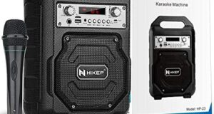 HIKEP Portable Karaoke Machine for
